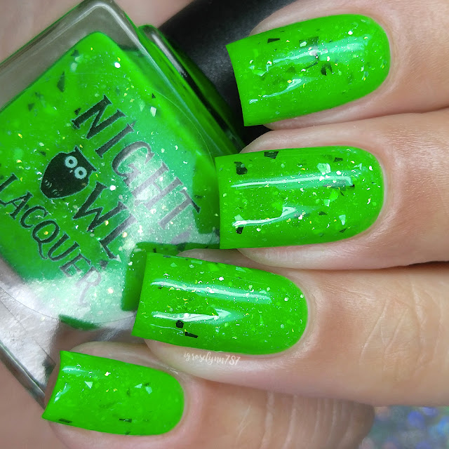 Night Owl Lacquer - Creepers Gonna Creep