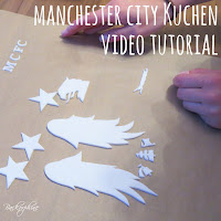 Manchester City Cake TUTORIAL