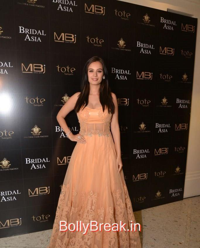 Evelyn Sharma, Anchal, Evelyn, Arpita at Bridal Asia Show Media Preview