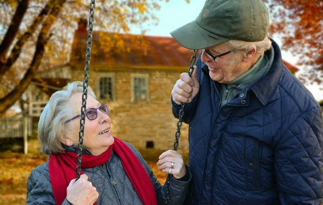 Anziani e malattia di Alzheimer