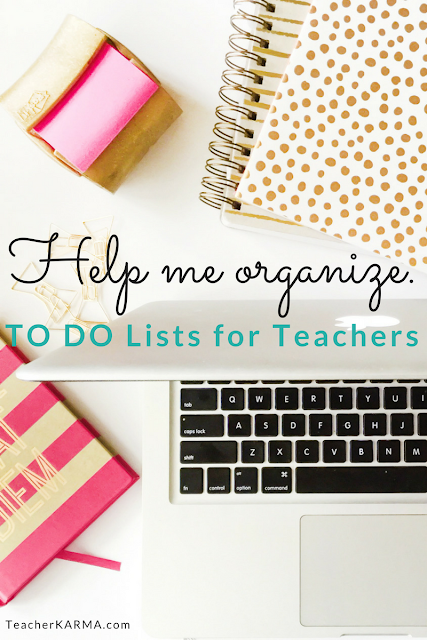 Teacher organization form freebie teacherkarma.com