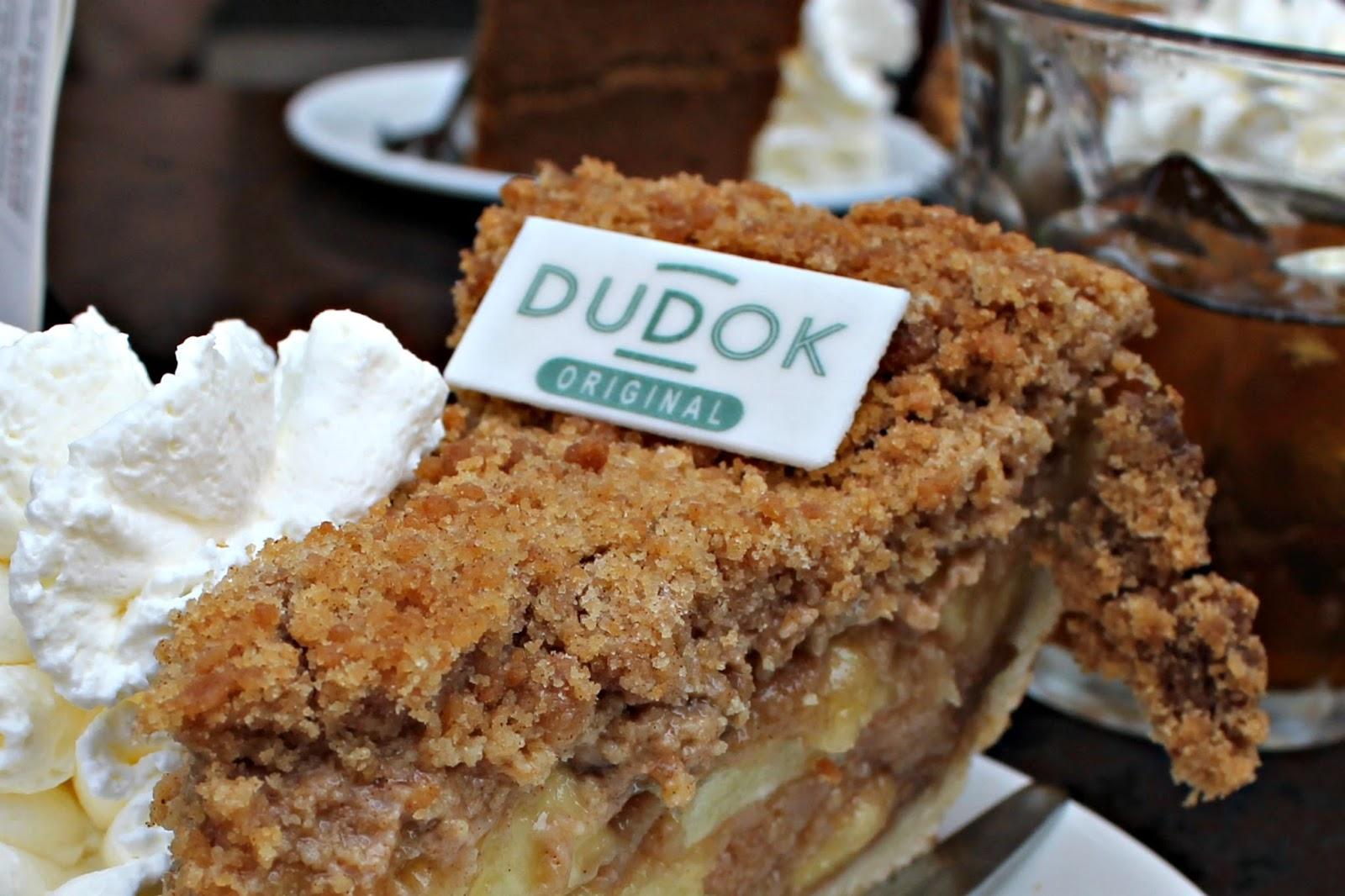dudok taart Dudok: waar je appeltaart als lunch wilt eten dudok taart