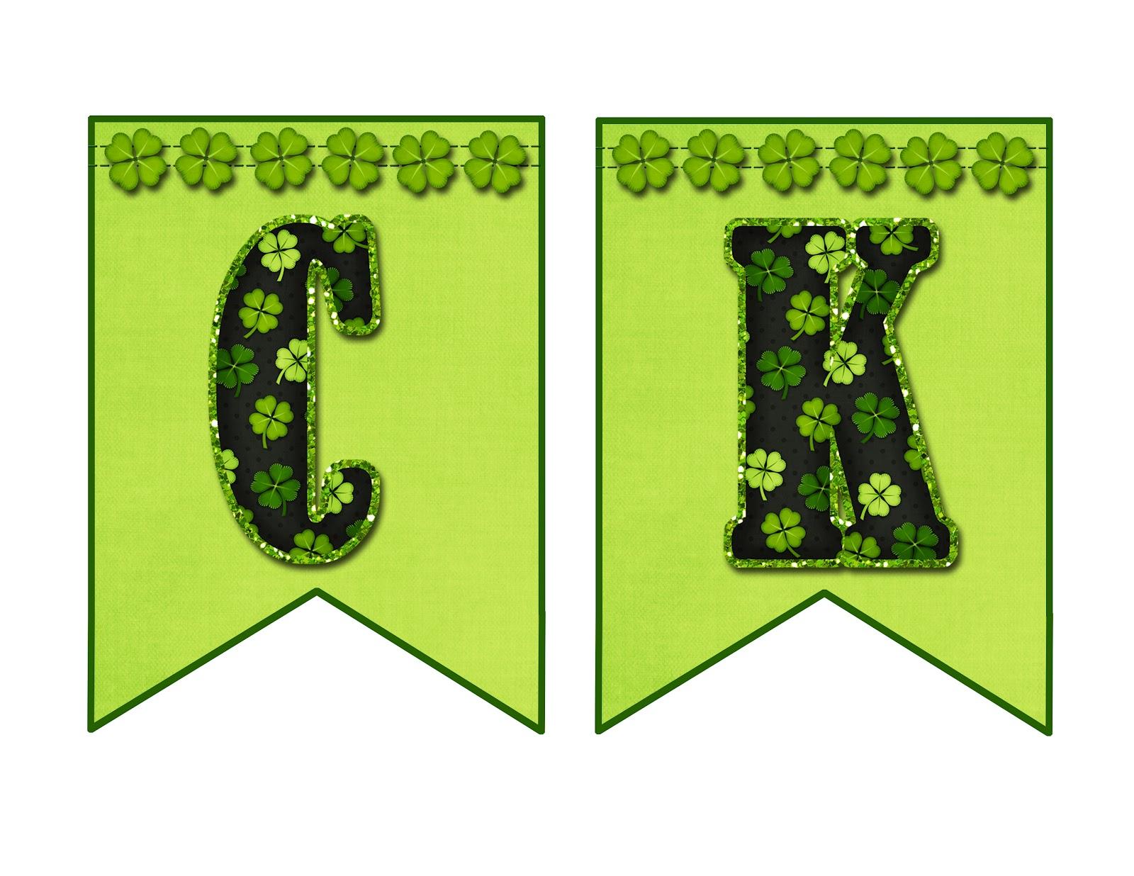 FlipChick Designs: Free LUCKY Banner!