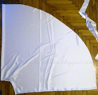 Szycie sukni ślubnej cz. 3 - szycie krok po kroku: gorset, dół i halka