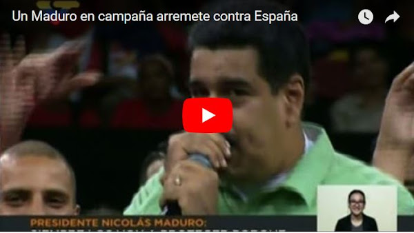 Maduro tomará represalias contra comerciantes españoles en Venezuela