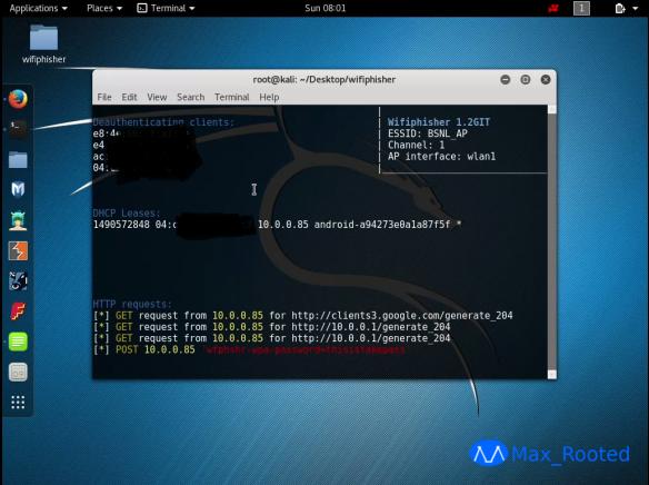 Cara Mudah Hack WiFi Dengan Wifiphisher