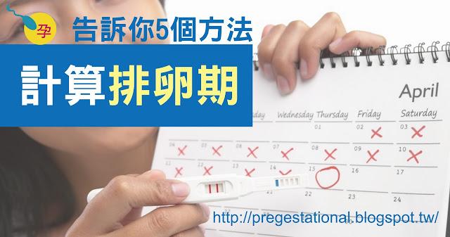 排卵期怎麼算?5個方法計算排卵期
