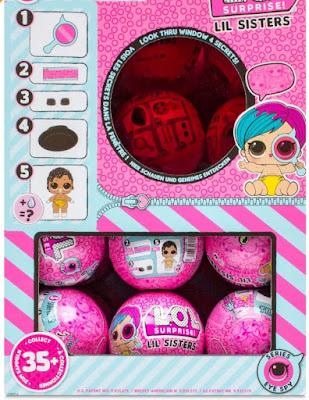 Розовые шары ЛОЛ Сюрприз младшие сестрички куклы 4 серии 2 волны