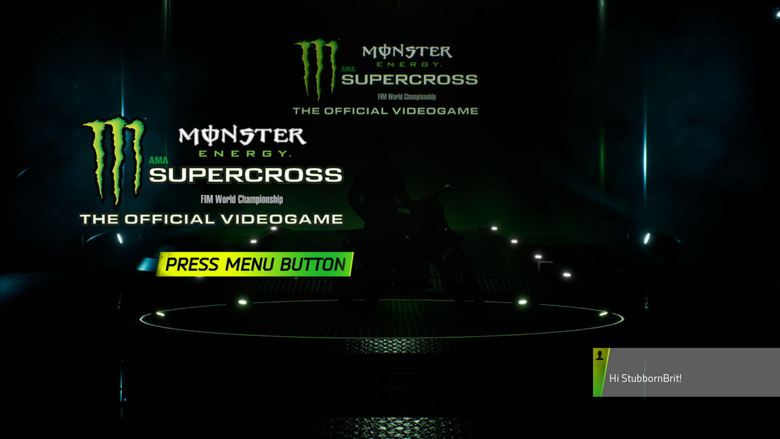 Monster Energy Supercross - The Official Videogame (Xbox)