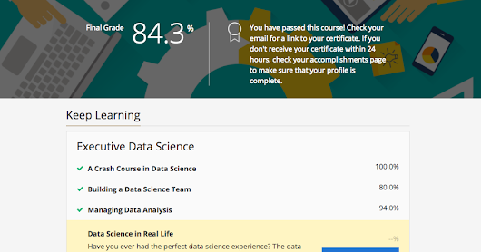 Data Science In Real Life - Course