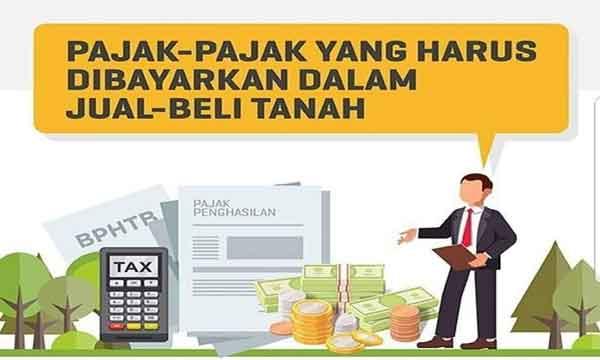 pajak yang harus dibayar dalam jual beli tanah