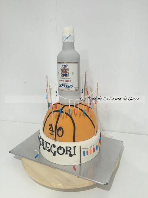 tarta basket y mascleta 1
