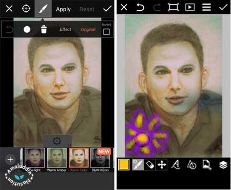 aplikasi edit foto PicsArt dengan efek keren