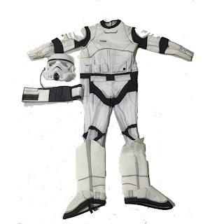 Star Wars Stormtrooper Costume Carnevale cosplay travestimento a tema per bambini misura taglia età 4 5 6 7 8 9 10 11 anni.