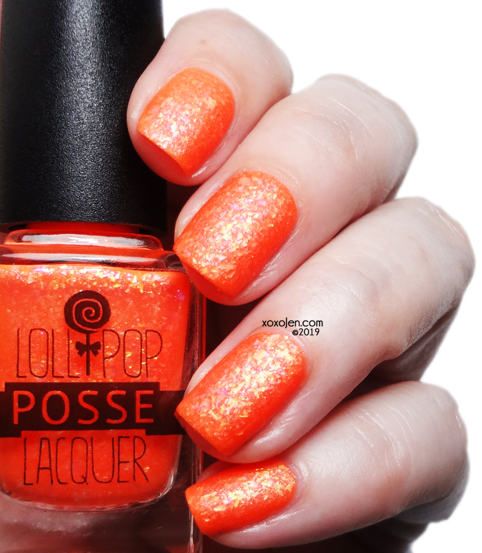 xoxoJen's swatch of Lollipop Posse Metaphorical Gin and Juice