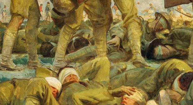 John Singer Sargent Gassed 1919 Tutt'art Pittura