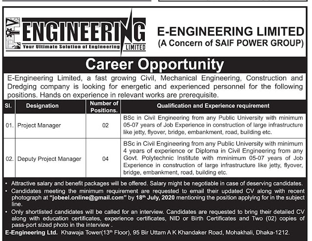 career opportunity - bangladesh protidin potrika ajoker