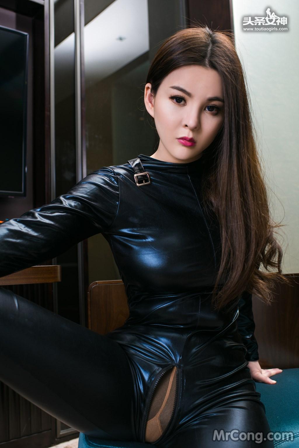 Image MrCong.com-TouTiao-2017-02-11-Tong-An-Qi-001 in post TouTiao 2017-02-11: Người mẫu Tong An Qi (童安琪) (27 ảnh)