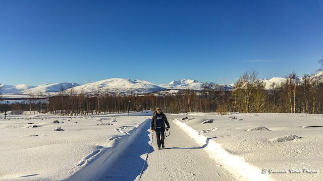 Winter Trail Tromsø Island - Noruega, por El Guisante Verde Project