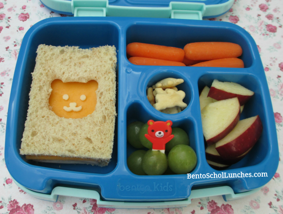 Bear bento, Bentgo kids, bento school lunches