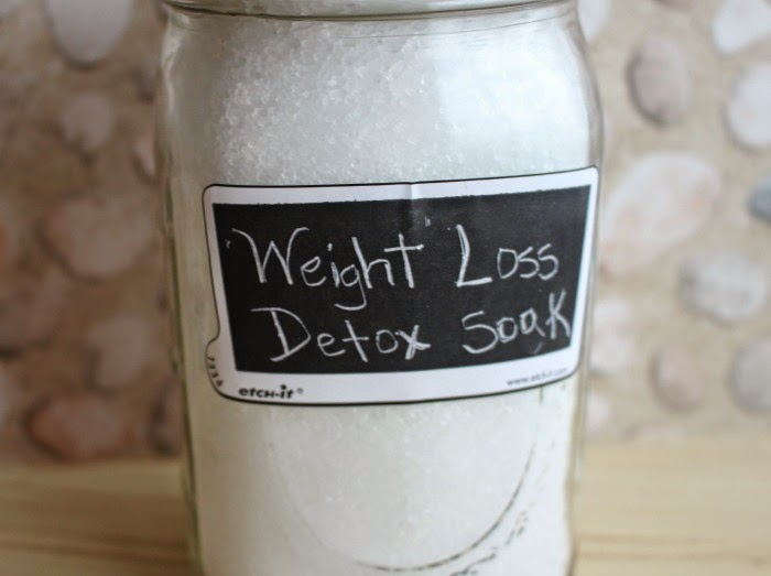 Weight Loss Lavender Detox Bath Soak - First Time Mom and