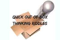 Quick Out of Box Thinking Riddles with Answers