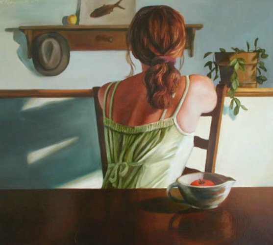 """Solitude"" By An American Figurative painter ""Rachel Ferguson"""