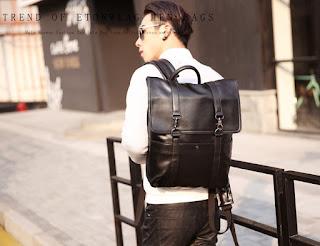 Tas Murah MB0003 Korean Backpack Model Terbaru Juli 2016