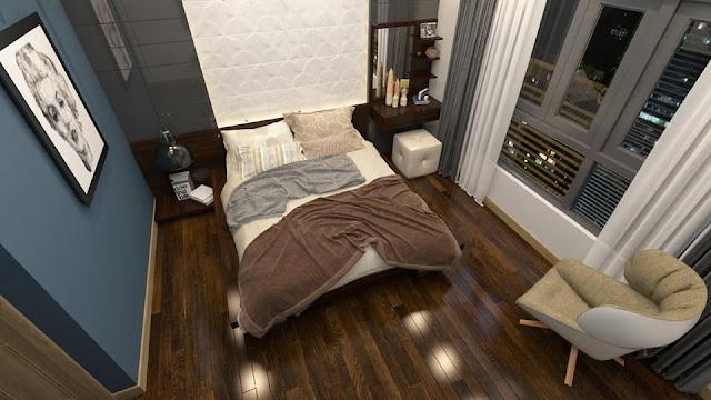 Phòng ngủ tại căn hộ Vincity