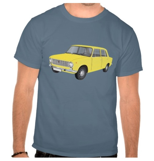 fiat, 124, t-shirt, paita, tröja