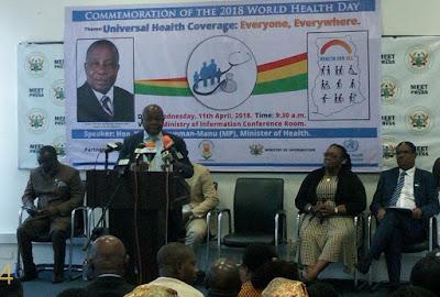 Dr. Kwaku Agyeman-Manu MINISTRY OF HEALTH