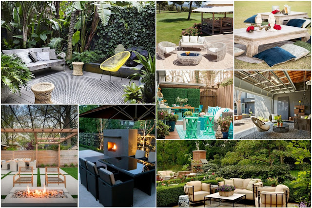 Garden Decorations For Distinctive Outdoor Seating