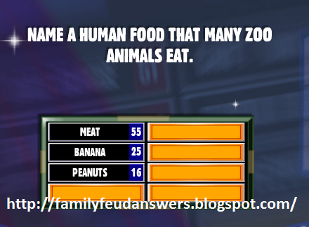 Facebook Family Feud Answers: Name a Human Food That Many