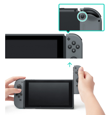 How To Detach Nintendo Switch Controller