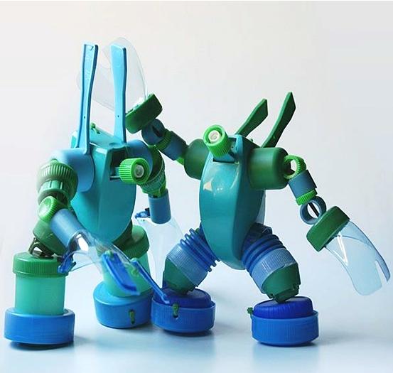 16 Kerajinan Dari Botol Plastik yang Kreatif dan Keren