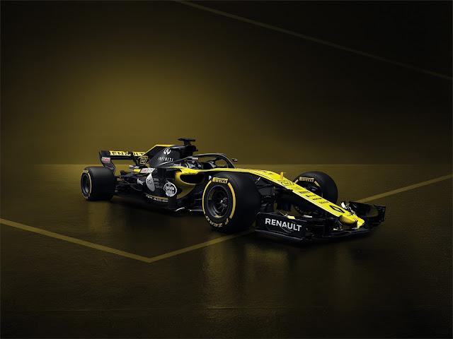 Renault Sport Formula 1 Takımı 2018'de yarışacağı yeni aracını tanı