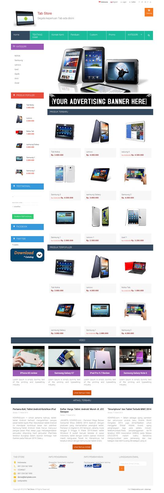 BONUS GENDENG BIKIN WEBSITE .COM & TOKO ONLINE - 3