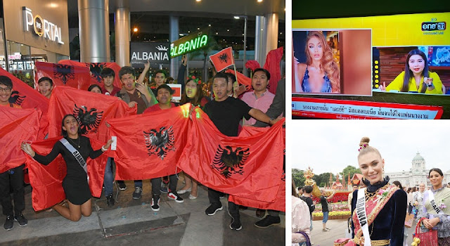 Why the Thai are going crazy about Miss Albania Trejsi Sejdini