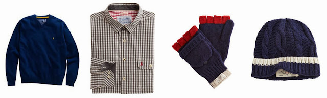 Joules for Men Hewney Shirt Westby Gloves, hat and Retford Sweater