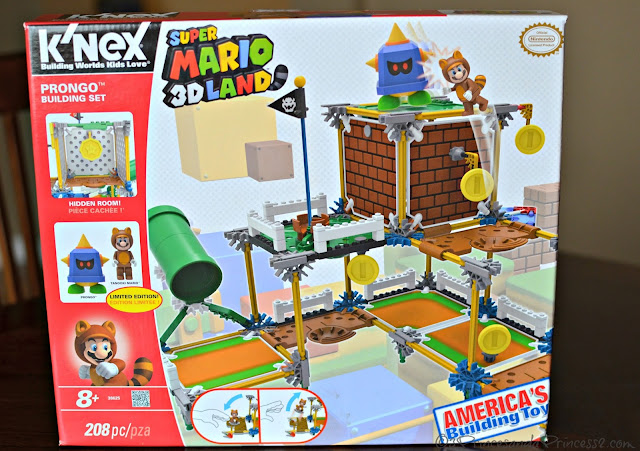 SUPER MARIO: Prongo Building Set #Knexbrands