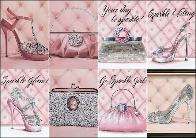 Set Sparkle and Glam para Imprimir Gratis.
