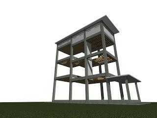Model Kandang Rumah Burung Walet ternakan   Dunia Cara ...