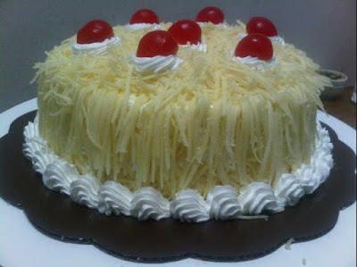 Cara Membuat Resep Kue Ulang Tahun Sederhana White Cheese