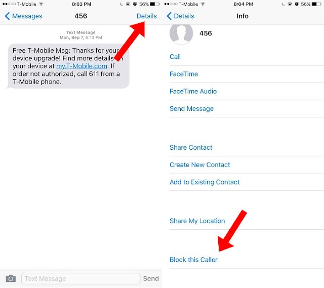 Here's How To Block Text Messages On Your iOS Devices Without Any 3rd Party App