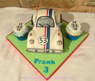 Herbie  birthday cake