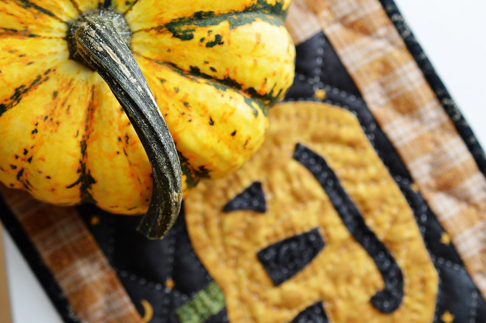 Happy Halloween   Pumpkin Quilt   Motte's Blog