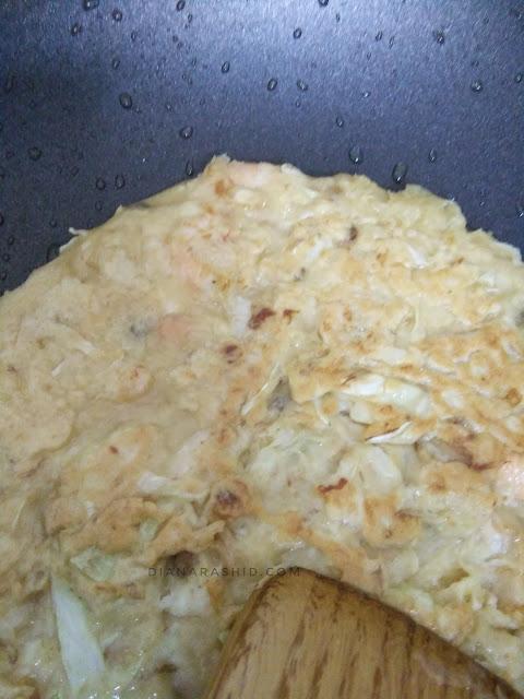 Okonomiyaki sedap