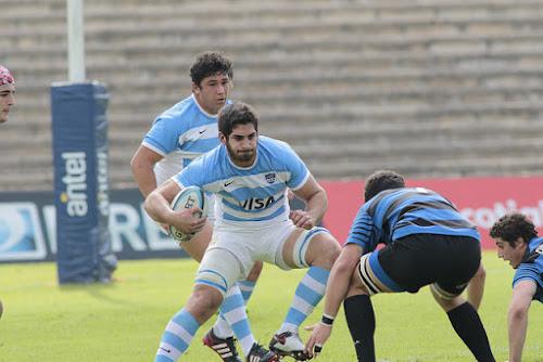 Victoria Pumita en la Sudamérica Rugby Cup