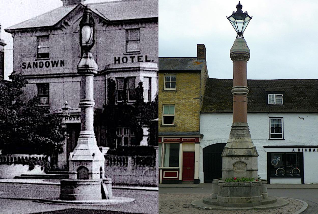 Victoria Jubilee Memorials, Sandown and St Ives