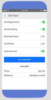 Tema BBM MOD Like iOS v3.3.6.51 Apk 9